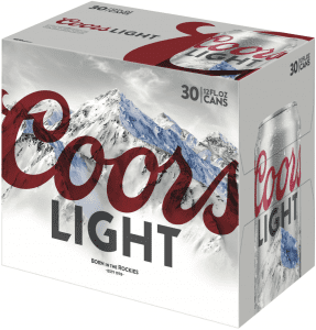 coors light 30pck